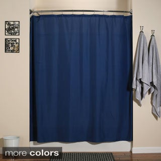 Aulaea Shower Curtain Liners Buttonhole Opening