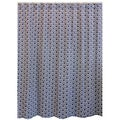 Swell Navy Blue Shower Curtain