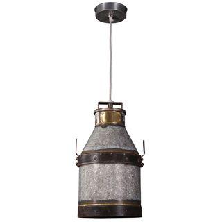 Boone 1-light Industrial Iron Pendant