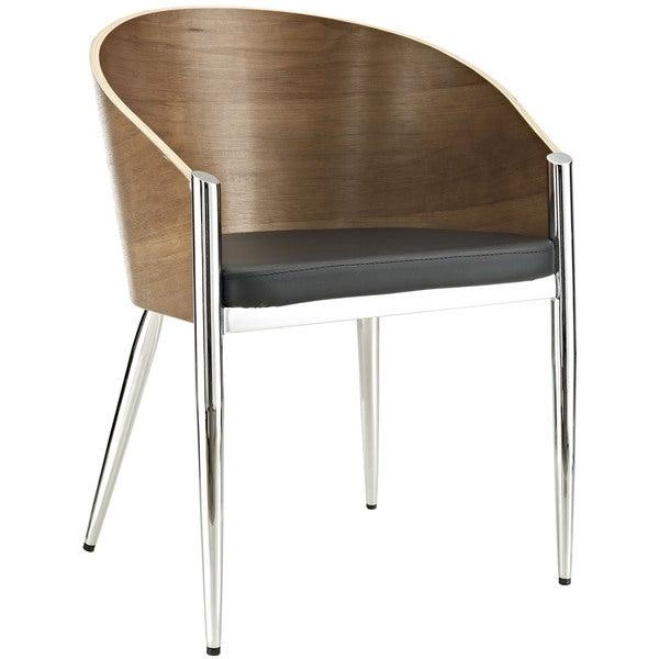 Cooper Walnut/ Black Dining Chair