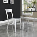 Milan Brushed Aluminum Dining Chair