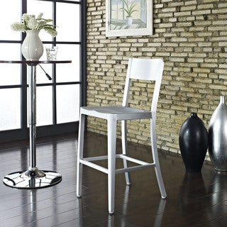 Milan Anodized Aluminum Counter Stool