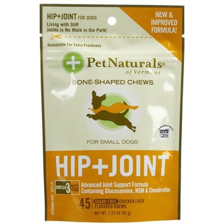 Pet Naturals of Vermont Small Dogs 2.2-ounce Hip and Joint Support Supplement (Pack of 2