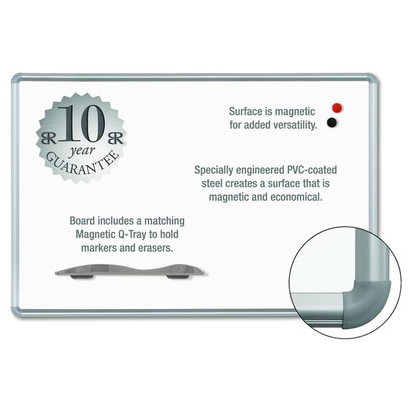 Balt Magne-Rite Plastic Corner Dry Erase Presidential Trim Silver