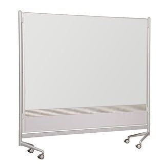 Balt Mobile Double Sided Divider Dura-Rite HPL Markerboard Both Sides DOC Room Partition