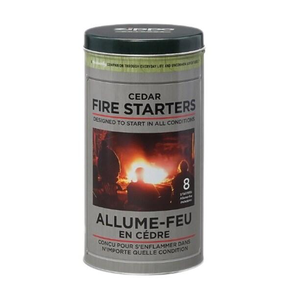 Zippo Cedar Fire Starter Storage Tin