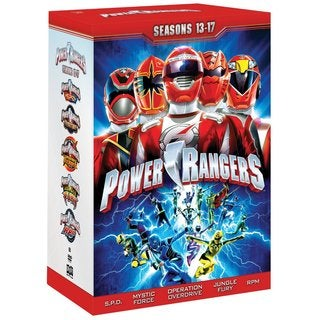Power Rangers: Seasons 13-17 (DVD)