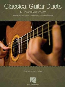 Classical Guitar Duets: 17 Classical Masterpieces: Arranged for Two Guitars in Standard Notation and Tablature (Paperback)