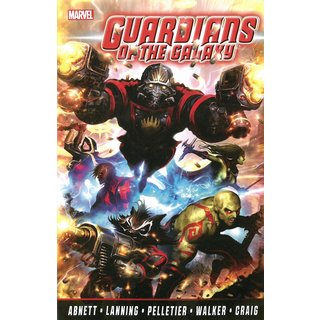 Guardians of the Galaxy 1: The Complete Collection (Paperback)