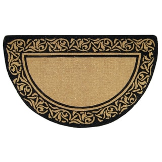 Heavy Duty Coir Decorative Bella Border Doormat