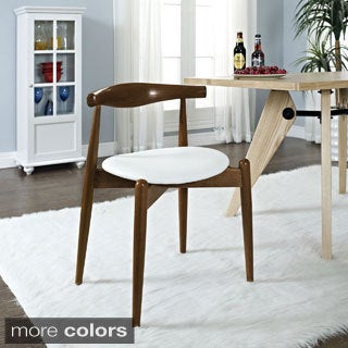 Stalwart Modern Walnut Dinng Chair