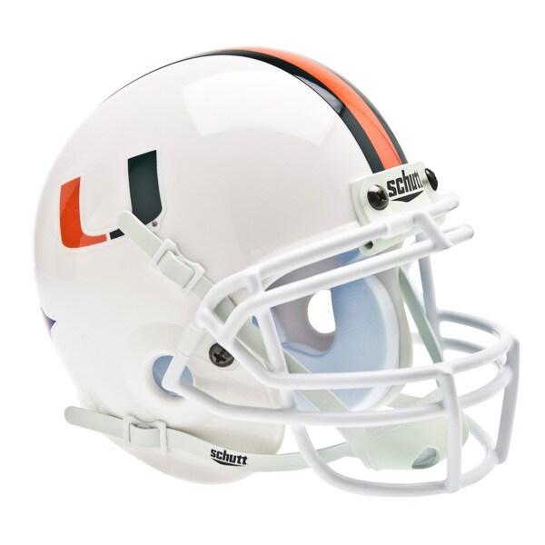 NCAA Miami Hurricanes Mini Football Helmet 12304570
