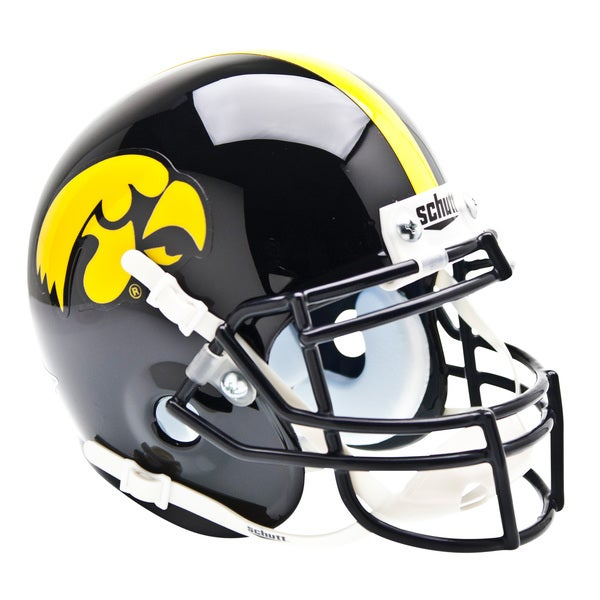 NCAA Iowa Hawkeyes Mini Football Helmet