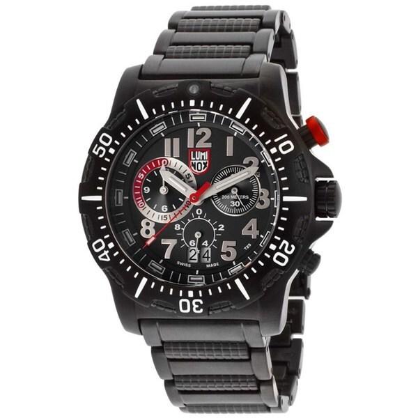 Luminox Men's Dive Chronograph Black Watch