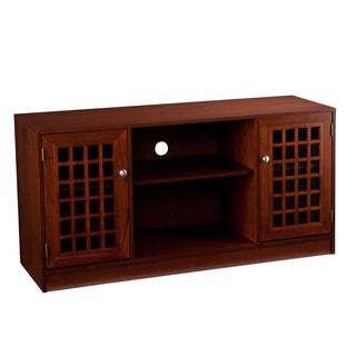 Upton Home Natalie Brown Mahogany Media/ TV Stand