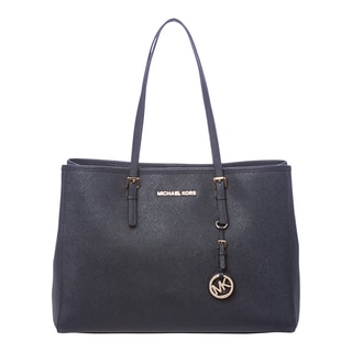 MICHAEL Michael Kors 'Jet Set' Large Navy East/west Travel Tote