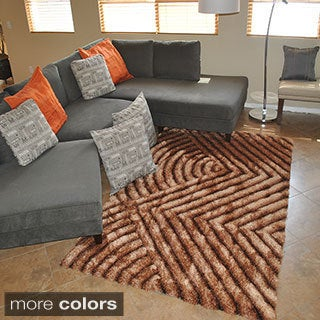 3D Geometric Abstract Area Rug (8' x 10')