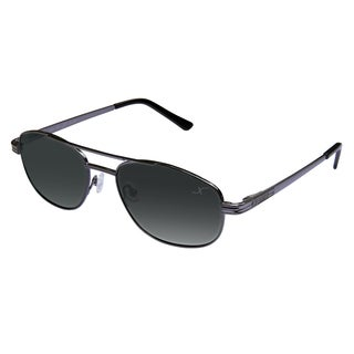 Xezo 'Pilot' Black Chrome Titanium Polarized Sunglasses