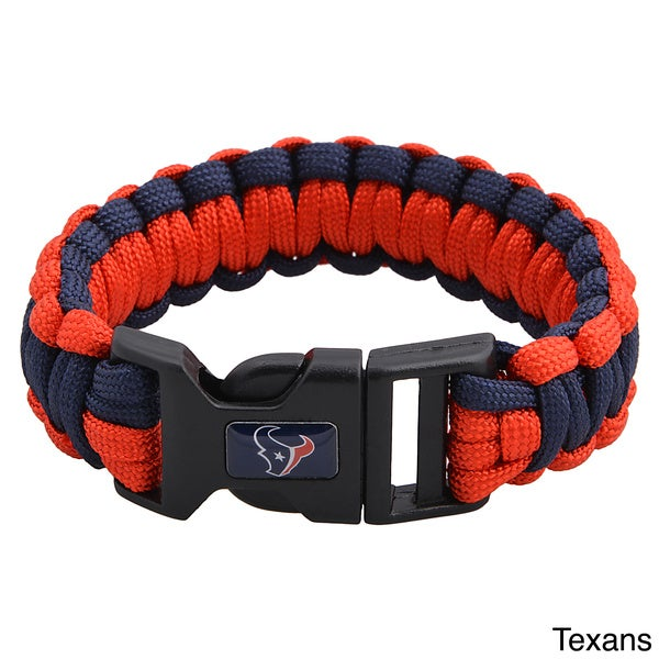 NFL Durable Nylon AFC South Survivor Bracelet