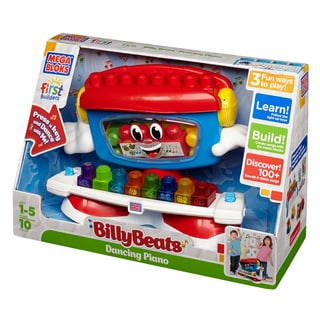 Mega Bloks First Builders Billy Beats Dancing Piano
