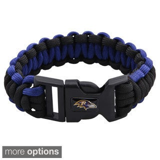 NFL Durable Nylon AFC North Survivor Bracelet