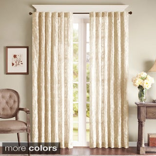 Madison Park Paley Embroidered Curtain Panel