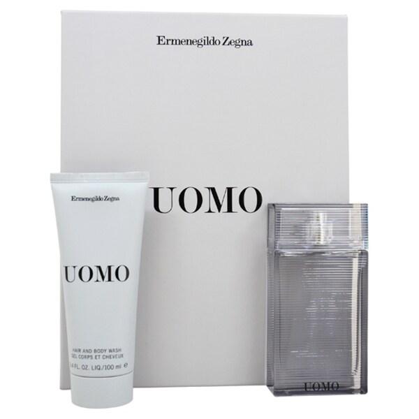 Ermenegildo Zegna 'Zegna Uomo' Men's 2-piece Gift Set