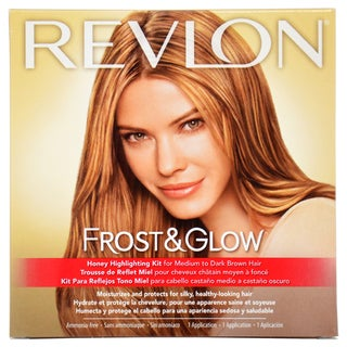 Revlon Frost Amp Glow Honey Medium To Dark Brown Hair
