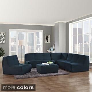 Align Azure Upholstered Sectional Sofa Set