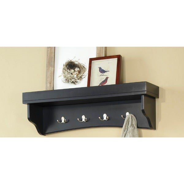 Fair Haven Coat Hook and Tray Shelf