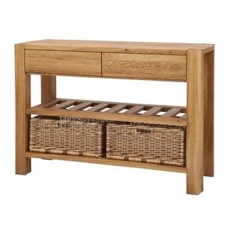 Stockholm 2-drawer and 2-basket Sideboard