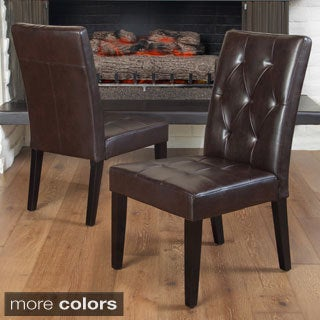 Christopher Knight Home Reseda Tufted Dining Chair (Set of 2)