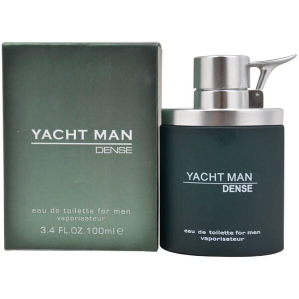 Myrurgia Yacht Man dense Men's 3.4-ounce Eau de Toilette Spray
