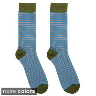 Juliett Men's 'Jacob' Striped Dress Socks