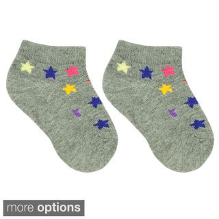 Julietta Infant 'Cory' Multicolored Print Ankle Socks