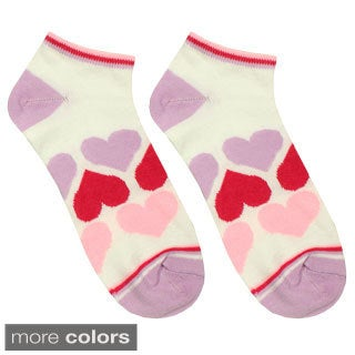Julietta Women's 'Farrah' Heart Ankle Socks