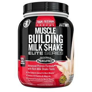 Six Star Pro Nutrition Elite Series 2-pound Muscle Building Milkshake