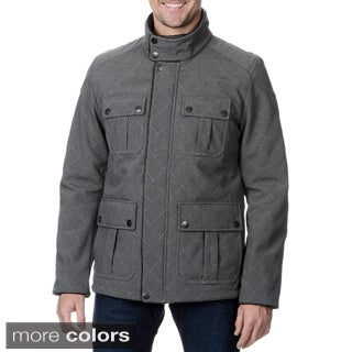 Fleet Street Men's Military Soft-shell