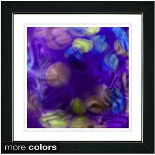 Zhee Singer 'Purple Chon-Chon' Framed Fine Art Print