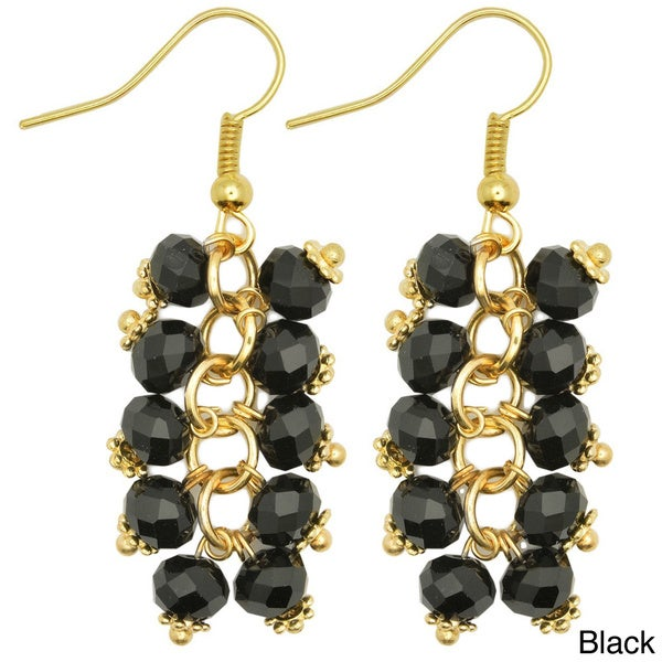 Kate Marie 'Eden' Unique Look Dangle Fashion Earrings