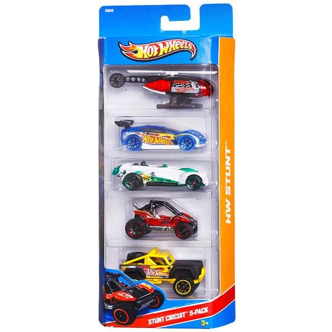 Hot Wheels Stunt Circuit 5-car Set at Sears.com