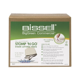 Bissell 77D1 Stomp 'n Go 20-count Stain Lifting Pads