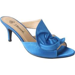Women's J. Renee Joslin Blue Satin