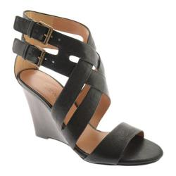 Women's Nine West Mauren Black Ontario Leather