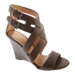 Women's Nine West Mauren Brown Ontario Leather