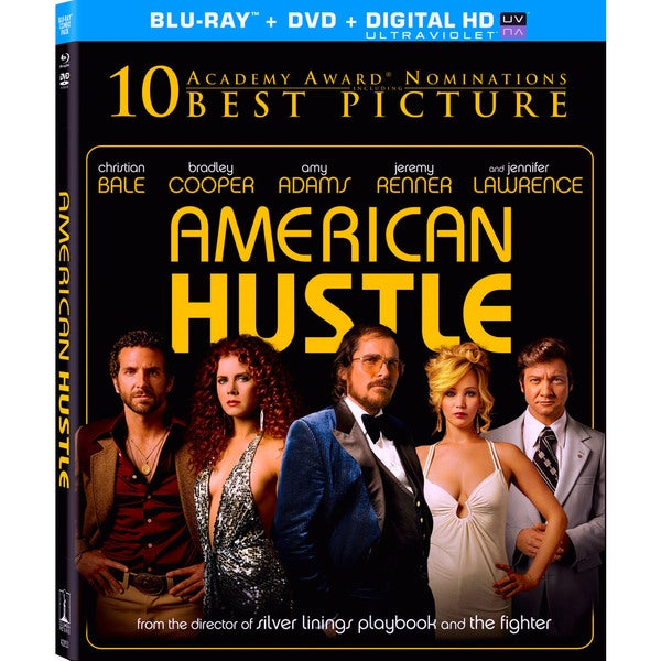 American Hustle (Blu-ray/DVD) 12310310