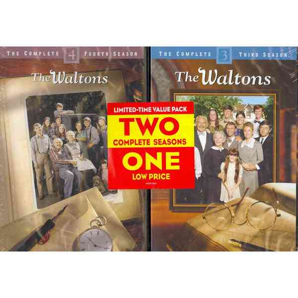 The Waltons: Seasons 3 & 4 (DVD)