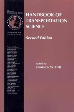 Handbook of Transportation Science (Paperback)