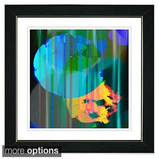 Zhee Singer 'Green Earth Flare' Framed Fine Art Print