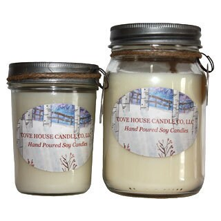 Angel 8/ 16-ounce Soy Container Candle